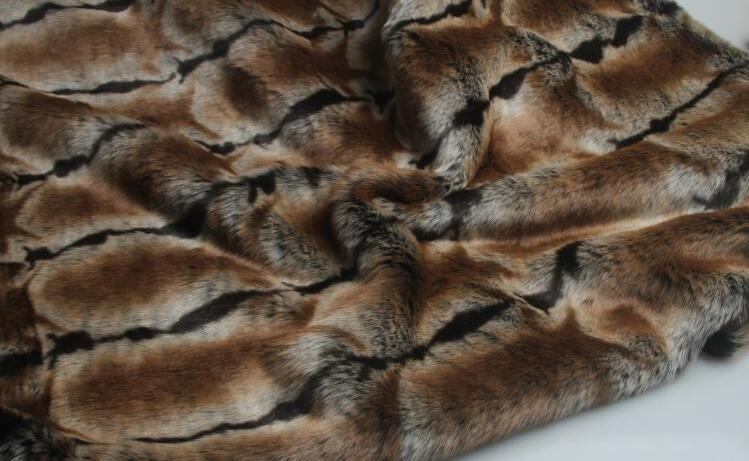 5 Estilo Rex conejo largo pelo animal algodón felpa lana tela para abrigo textil parches hechos a mano Jacquard grueso tejido de lentejuelas a346