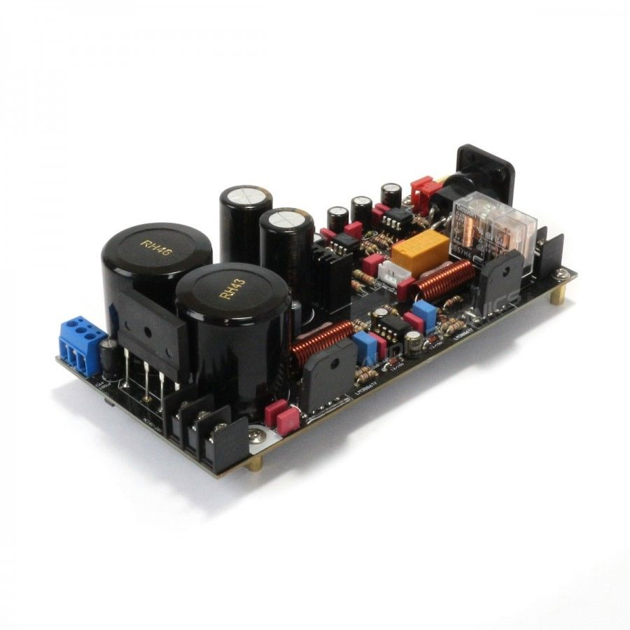 Douk Audio HiFi Fully Balanced Mono Power Amplifier Modules LM3886 2*120W 1 pair assembeld mono lm3886 hifi amplifier board base on jeff rowland lm3886 power amplifier