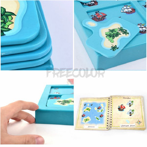 Image 4 - Kids Toys Hide And Seek Pirates Preschool Puzzle Brain Teaser Travel Board Game For Ages 4 Up Featuring 48 Playful Challenges