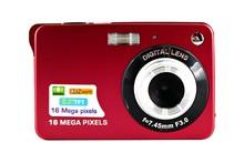 """Fantastic 4X Zoom HD cámara Digital 18MP 2.7 """" TFT Smile Capture Anti shake de vídeo videocámara, envío gratis"""