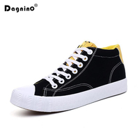 DAGNINO Hot Sale High Top Canvas Shoes Men S Fashion Breathable Casual Shoes Autumn Spring High