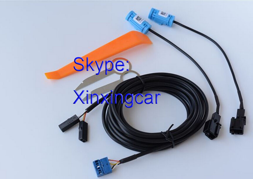 Top Quality   Bluetooth Car Kit   Tool  Bluetooth   Microphone Wiring Harness Cable For Audi Q3