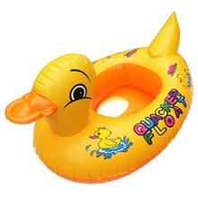 Hot Duck Design Cute Kids Baby Child Inflatable Swimming laps Pool Swim Ring Seat Float Boat Water Sports