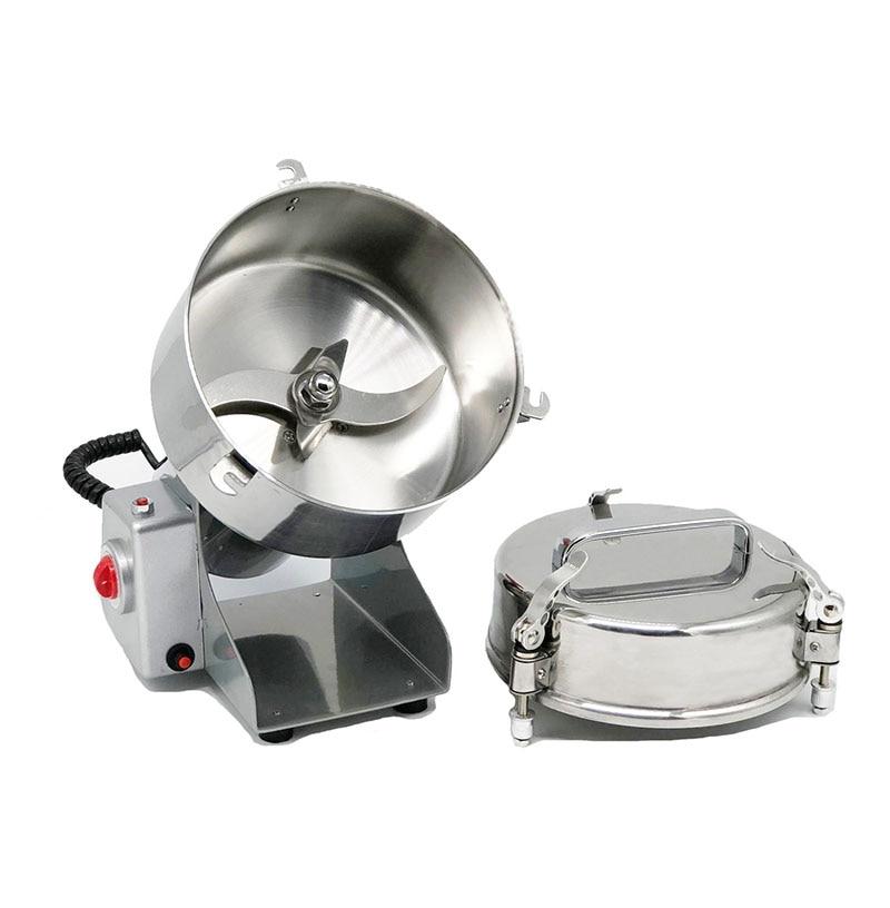 Molinillo de alimentos de gran valor fresadora de acero inoxidable máquina de molienda de polvo pequeño molino de harina eléctrica comercial para el hogar D273 - 5