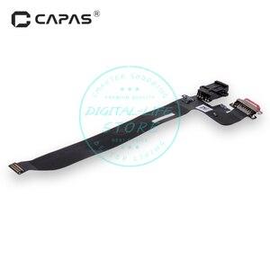 Image 2 - Разъем док станции для Oneplus 5 A5000, USB порт для зарядки, разъем для наушников, гибкий кабель, модуль, замена, ремонт, запасные части