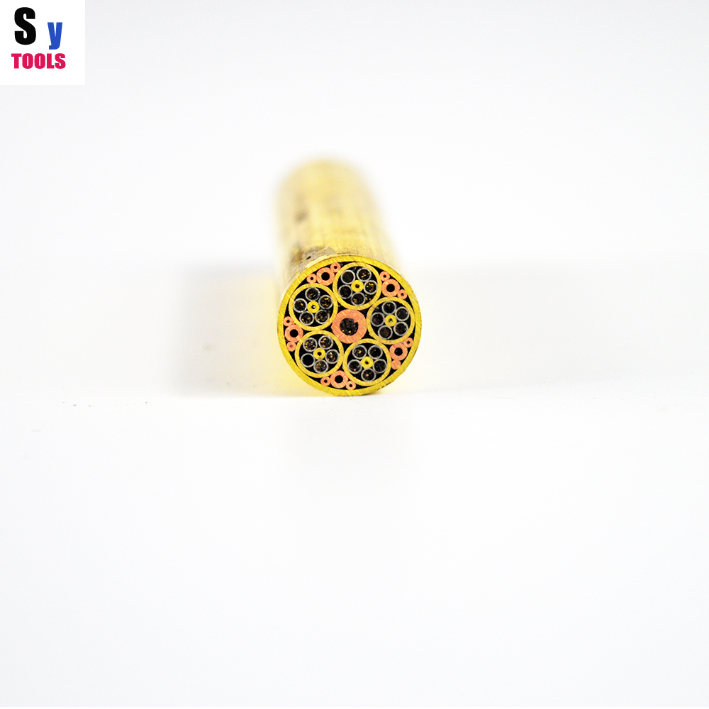 sy tools Mosaic pin Rivets 12mm knife handle screw More design exquisite style 5cm length
