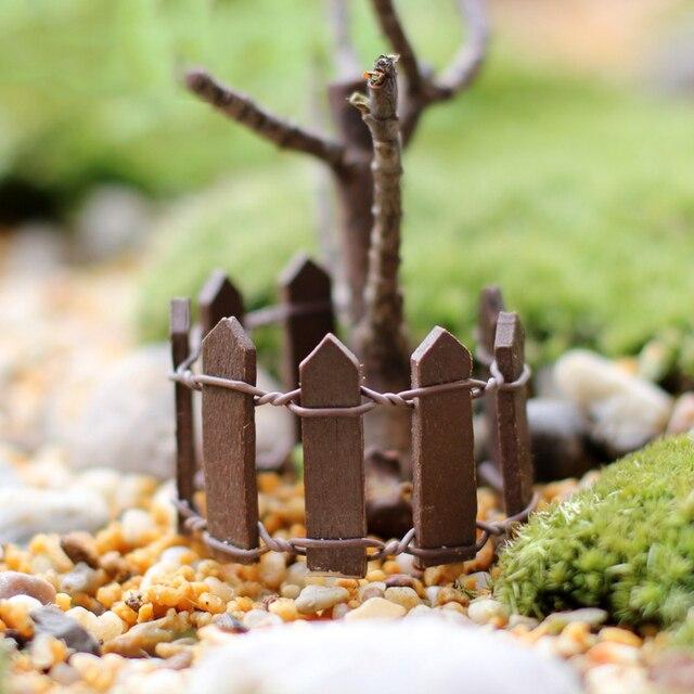 Totoro Home Decor Garden Decoration Wood Craft Fairy Garden Pot Decoration  Miniature Fairy FigurinesDIY Creative