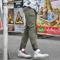 VIISHOW Army Green Pants Hip Hop Long Men Casual Cargo Pants Male Sweat Pants for Men Clothes KC44463