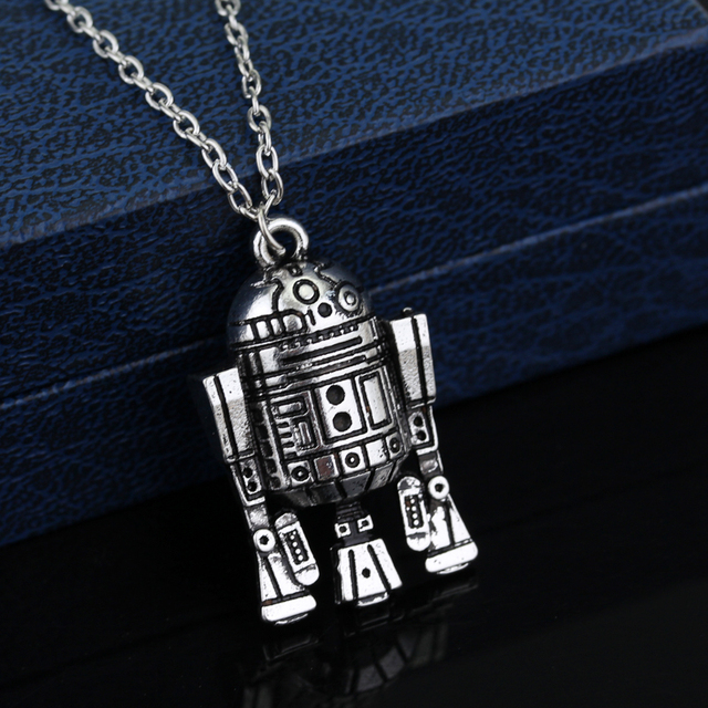 Star Wars R2D2 Droid Pendant Long Pendant