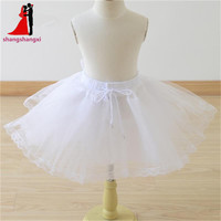 In Stock 2015 Wedding Accessories Children Hooped Petticoat Underskirt For Wedding Dress Crinoline Jupon Mariage Enaguas