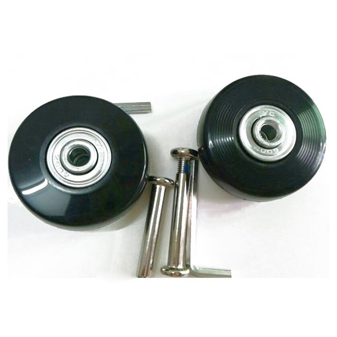2 Sets of Luggage Suitcase Replacement Wheels Axles Deluxe Repair Tool 50*20*6.1 mm2 Sets of Luggage Suitcase Replacement Wheels Axles Deluxe Repair Tool 50*20*6.1 mm