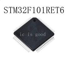 5PCS/LOT STM32F101RET6 STM32F101 RET6  QFP-64 Best quality