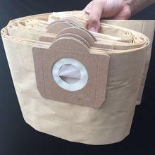 Il trasporto libero 10pcs di Carta sacchetti di polvere adatto per ROWENTA ZR81 ZR814 ZR82 Karcher A2700 Hoover H31 S6145 19L filtro borse