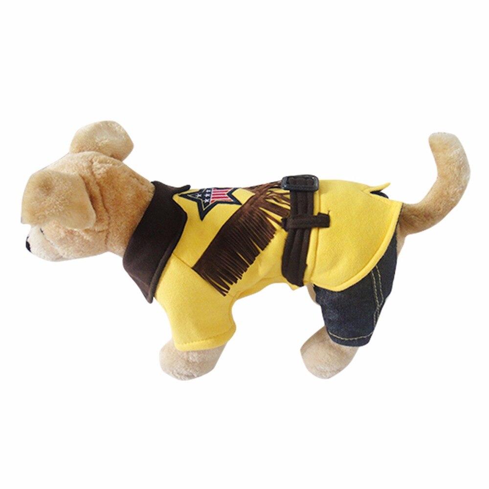 ツ)_/¯Ropa para mascotas abrigo Denim perro traje Vaqueros ropa ...