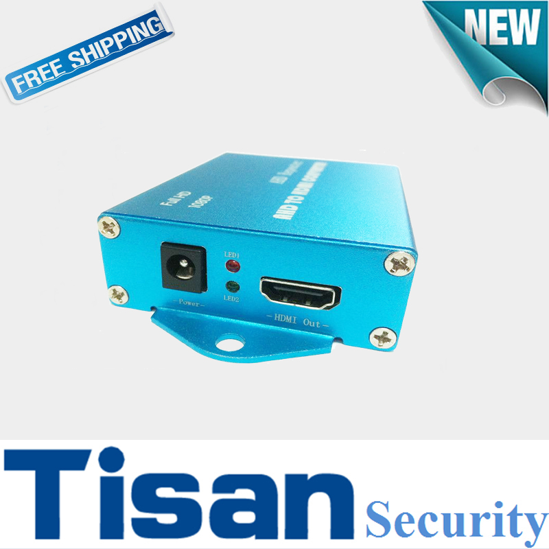 New 1CH TVI AHD to HDMI Video Converter for CCTV camera With 1ch looping TVI AHD output rs232 to rs485 converter with optical isolation passive interface protection