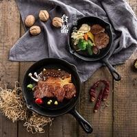 Ghisa ghisa frittura pan kitchen mestoli pot thermos bollitore da cucina cucchiaio di induzione di vendita di sconto