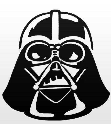 Details about darth vader vinyl decal auto graphics stickers star wars