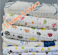 1x1.5M Multifuction Swaddle Wrap Blanket  8 Layers Thinken Soft Gauze Cotton Baby Wrap Breathable Bebe Manta  Infant  Diaper