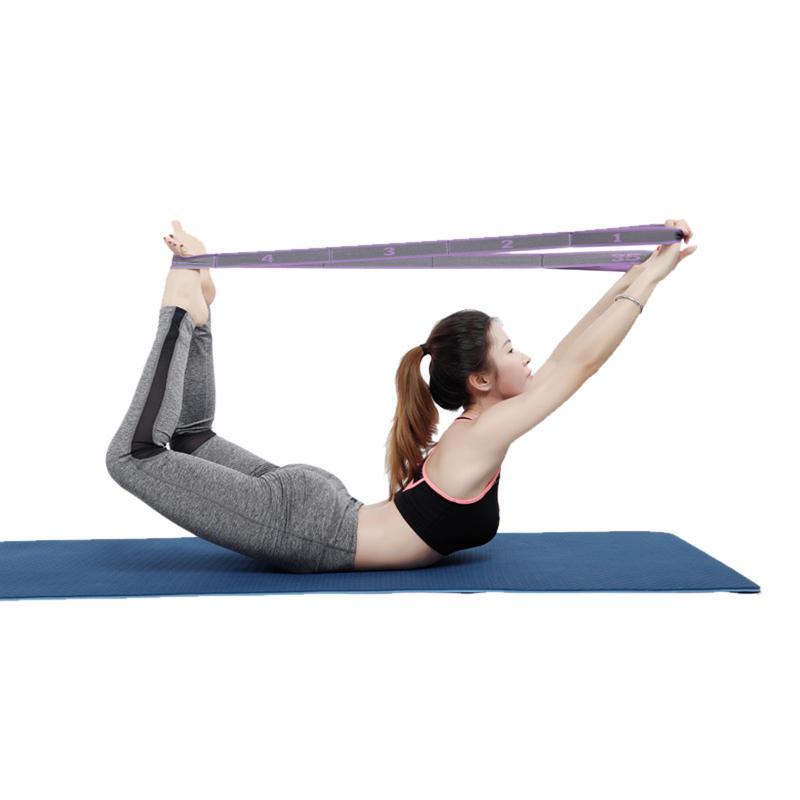 Details about  /Elastic Pull Strap Yoga Resistance Band Latin Dance Stretch Belt Exercise UK//
