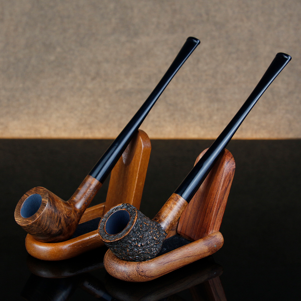 Gift Set 17cm Long Briar Pipe Multi Choice Straight Smoking Tobacco Pipe Best Briar Wood Pipe 3mm Filter Smoking Pipe Set-in Tobacco Pipes & Accessories from Home & Garden