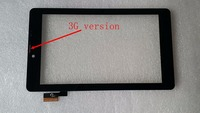 A+  7 inch Tablet touch screen F0899 JW KDX F0872 X sg5740a-fpc_v5-1 panel digitizer glass with middle frame easy install
