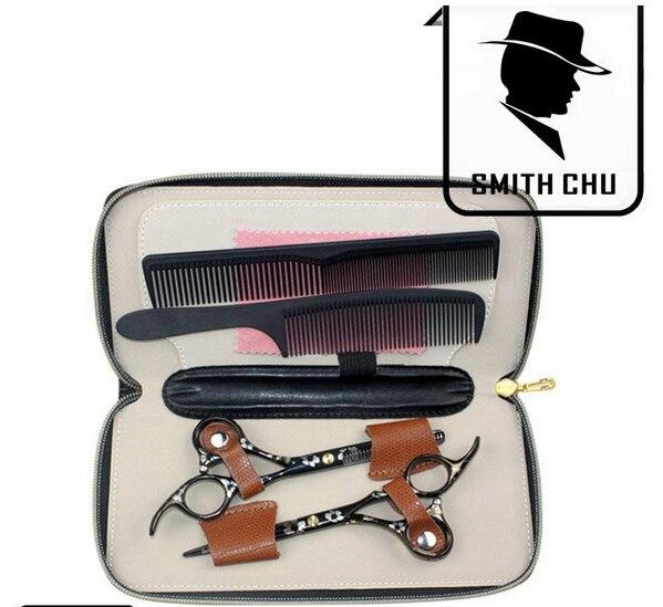 Smith chu hairdresser barber hair scissors sets for A shear thing salon