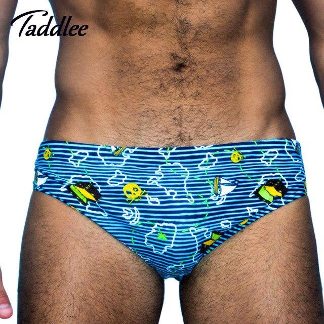 f357a86a3c1 Taddlee Brand Sexy Mens Swimming Briefs Swim Bikini Swimwear Men Swimsuits  Swim Boxers Trunks Surf Board Shorts Gay Europe Size