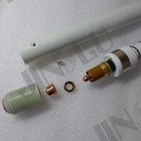 HF Pilot Arc OEM Trafimet Plasma Torch Straight A141 Head Body Air Cooled For CNC Plasma