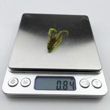 20pc/lot 10 Colors fishing lure soft 37mm 0.8g  grub artificial Trout crankbait Panfish Crappie Bream soft bait  170
