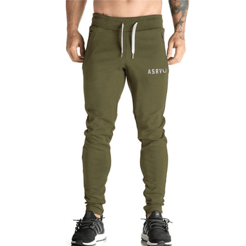 New Arrival Pocket Pencil Men Jogger Pants 2017 Hot Fitness Solid Mens Compression Pants Best Plus Size Trousers men Joggers CK3