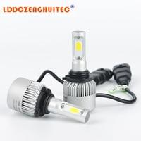 LDDCZENGHUITEC S2 H4 H7 H13 H11 H1 9005 9006 H3 9004 9007 9012 COB LED Headlight