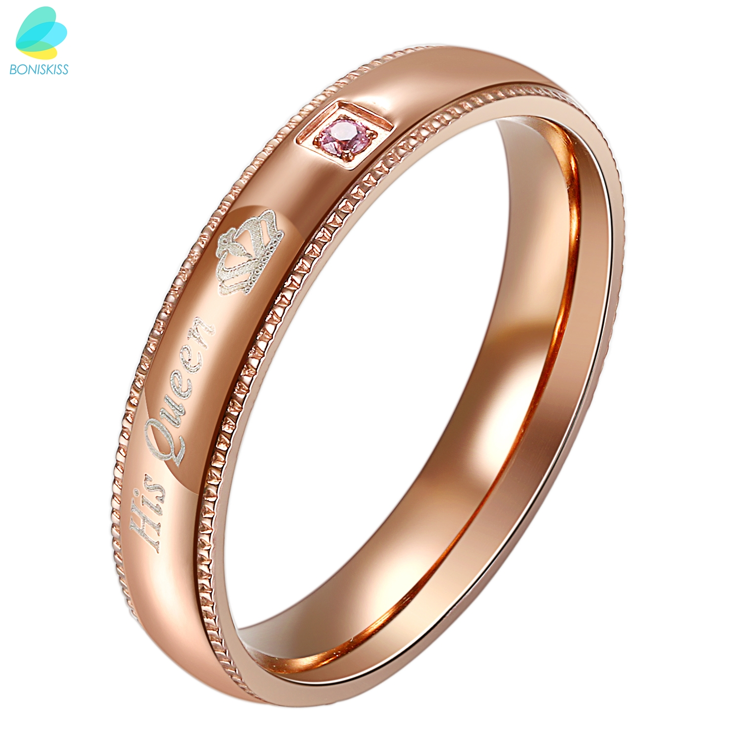 rings no her masculino king men engagement bands his promise item women wedding queen for stainless us fate and steel love ring anel