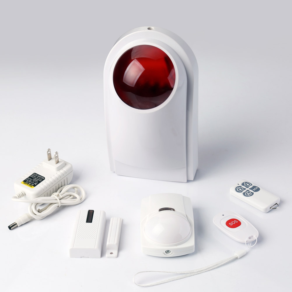 LCD Wireless GSM Autodial SMS Home House Office Security Burglar Intruder Alarm System LCC77