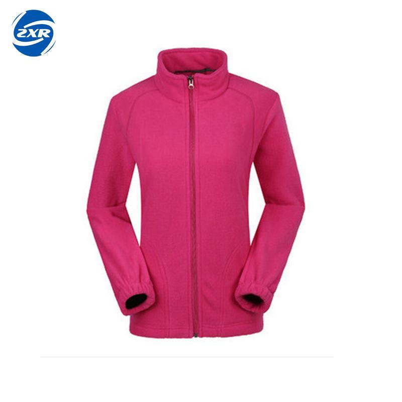Women Hiking Jacket Fleece Outdoor Jackets Softshell Warming Thermal Winter Climbing Hunting Camping Zipper Coat Polar