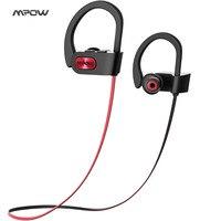 Mpow Bluetooth 4 1 Headphones Wireless Sports Niosy Canceling IPX7 Waterproof In Ear Headphone Headset Earphones