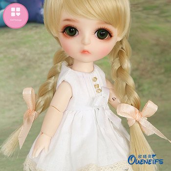 chouchouBJD SD Dolls lina1/8 Full Set pukifee lati ob11 With Wig Beautiful Clothes ShoeS Fashion Resin Figure Toys Oueneifs 2
