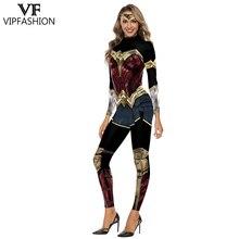 Moda VIP Wonder kobiety kostium dziewczęcy Cosplay body x men Team superbohater drukowane kostiumy Halloween dla kobiet