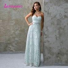 LEIYINXIANG Prom Dress Nuevo Vestido de Noche Largo Piso Longitud La Sirena Que Rebordea Lentejuelas Sexy A-Line Sweetheart