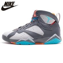 76da6401ce1 Nike Air Jordan 7 AJ7 Joe 7 Nike Barcelona Bobcats Men's Basketball Shoes  Sneakers, Original