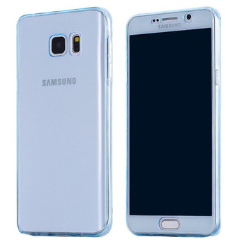 Galaxy S7 S7 edge Full Cover Silicone Luxury Soft 360 Protection Transparent