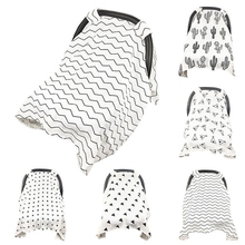 Cushion Canopy Sun-Shade Baby-Stroller Blanket for Breathable Dustproof New Seat-Pad