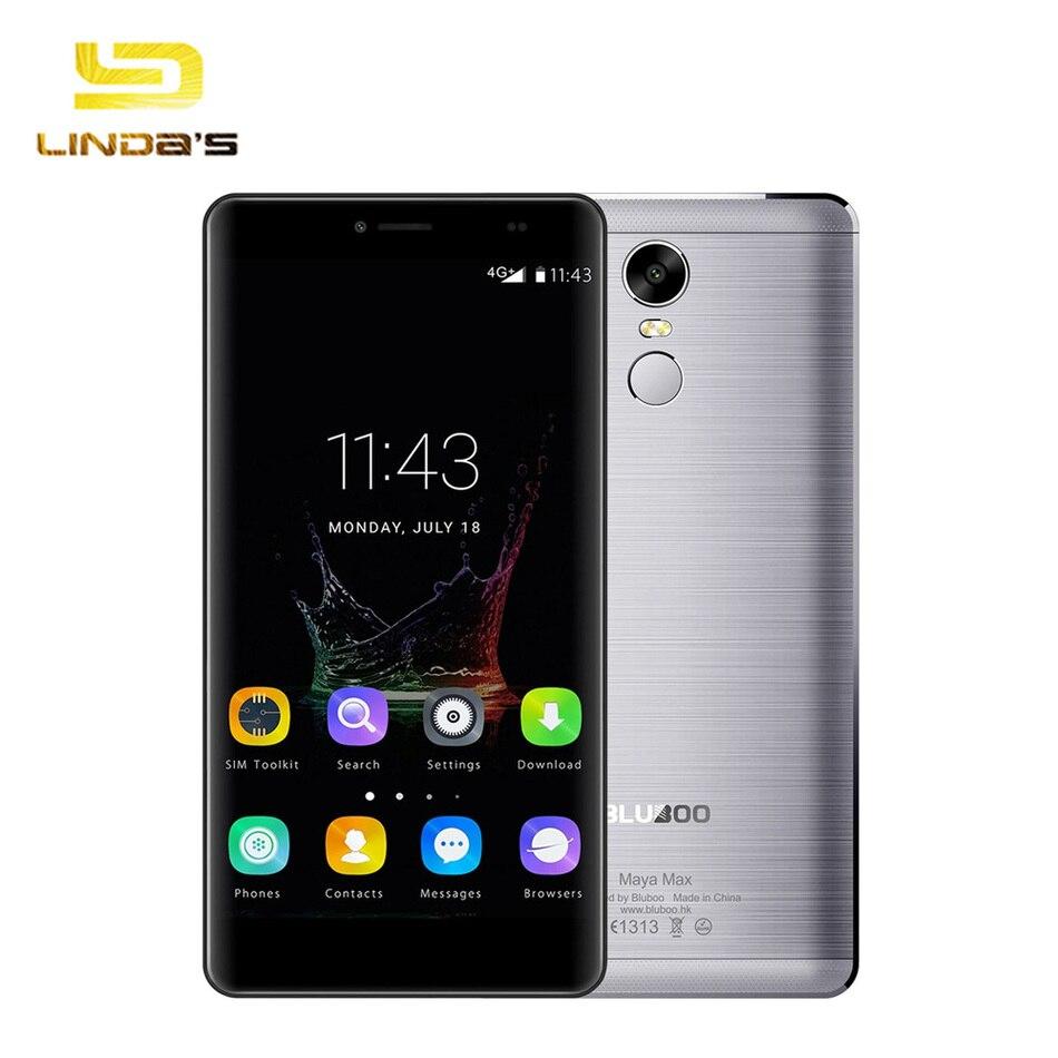 bilder für Original bluboo maya max 4g smartphone 6,0 zoll android 6.0 mt6750 Octa Core-Handy 3 GB RAM 32 GB ROM 4200 mAH Handy