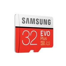 100pcs/lot SAMSUNG Memory Card Micro SD 32GB 64GB 128GB SDHC SDXC Grade EVO+ Class 10 C10 UHS TF Cards Trans Flash Micro SD 32G