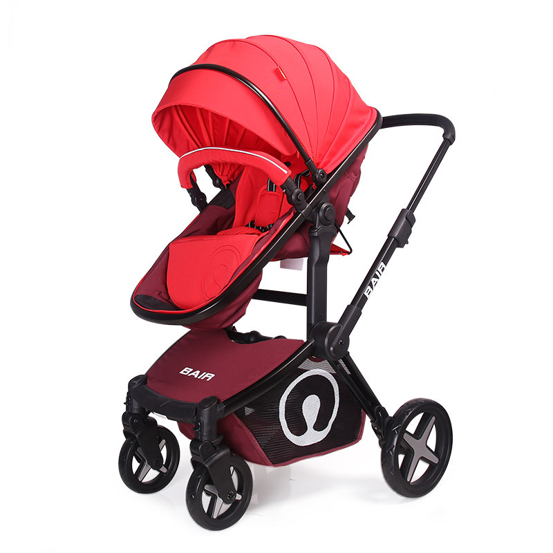 Bair baby stroller high landscape baby stroller can be lying on the seat of a full shock light folding oates j the lost landscape a writter s coming of age