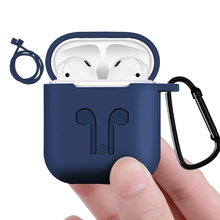 Silicone Bluetooth Wireless Earphone Case For i10 tws Protective Cover Skin Accessories for Apple Airpods Charging Box