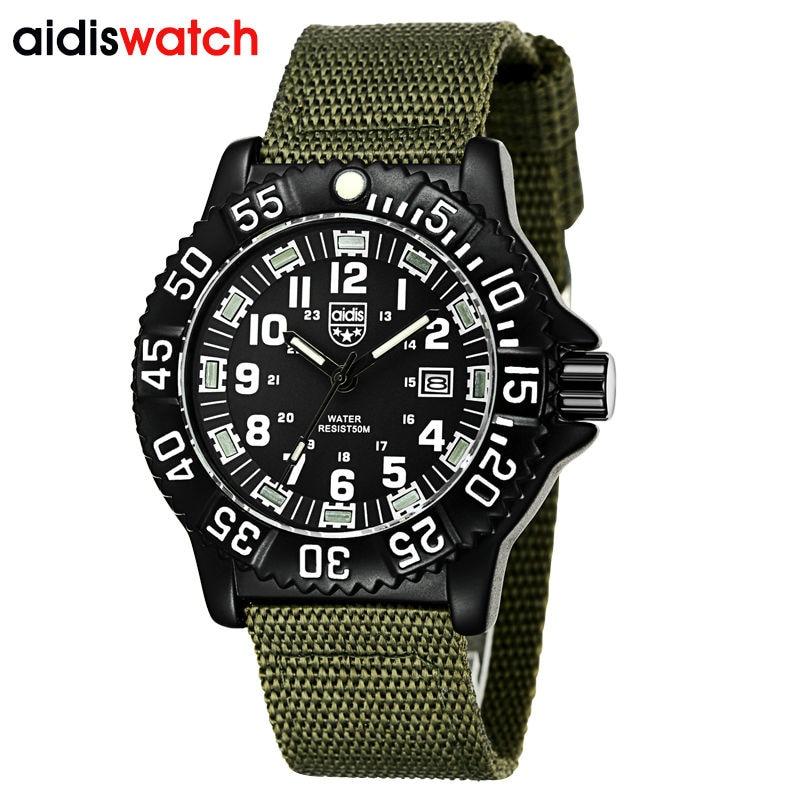 นาฬิกาผู้ชายแบรนด์หรูแฟชั่นกีฬานาฬิกาส่องสว่างชายนาฬิกาควอตซ์นาฬิกาชั่วโมง M Ontre ลดลงเรือrelógio masculino