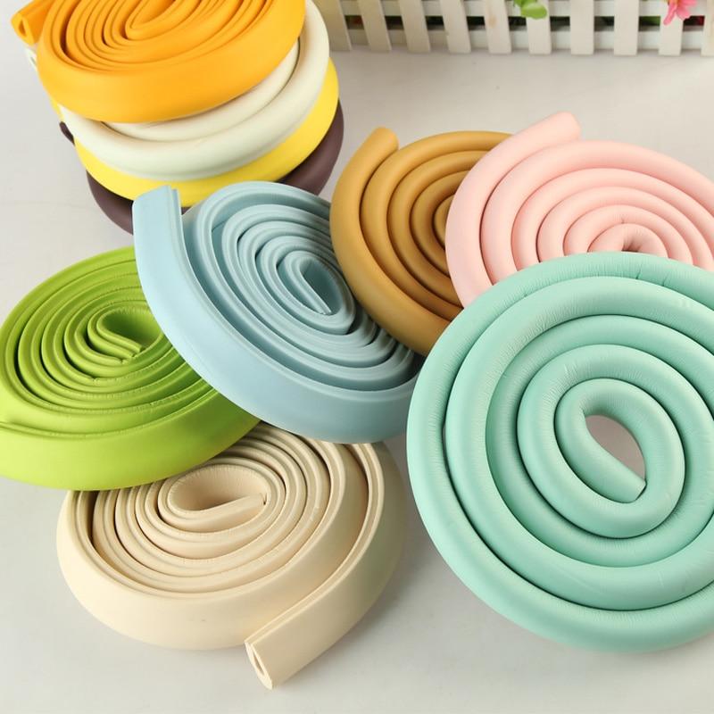 2M U Shape Baby Safety Soft Corner Edge Foam Guard Cushion For Glass Table -17 S7JN