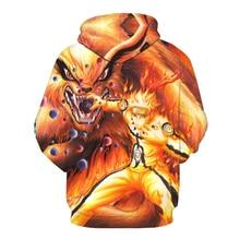 3D Print Naruto Hoodie Sweatshirt