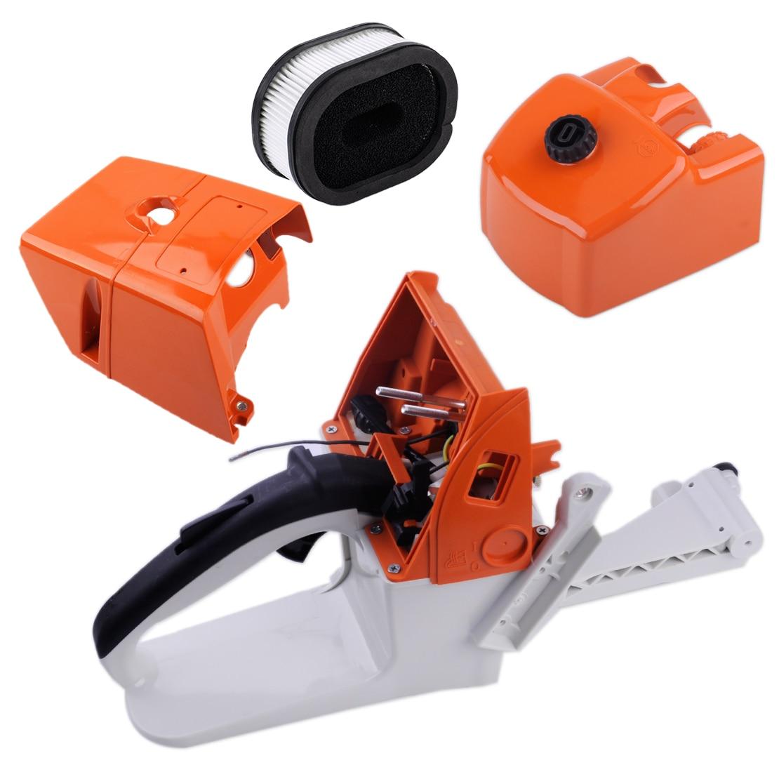 все цены на LETAOSK Gas Fuel Tank Housing Filler Cap Rear Handle Fit For Stihl MS660 066 MS650 ChainsawAccessories онлайн