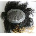 4 В Beautie Супер Хорошее Качество Продукта Волос Афро Curl Мужчин тупею Индивидуальные Волосы системы